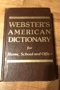 Websters american dictionary  New Lenox, 60451