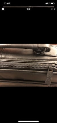 LAPTOP LEATHER BRIEFCASE
