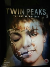 Twin Peaks The Entire Mystery book Surrey, V3S