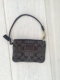 Coach signature wristlet veske in dark brown Stavanger, 4014