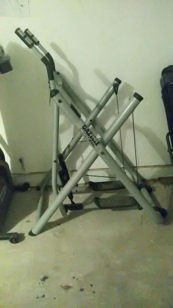 Gazelle Exercise Machine >> Gazelle Exercise Machine Includes Workout Dvd