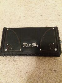 Miss me, brand new- leather wallet$25