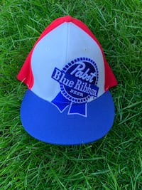 Pabst blue ribbon sick retro hat never worn wow  Kelowna, V1X 7C3