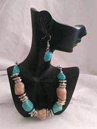 Necklace w/earrings nickel and lead free  Jersey City, 07302