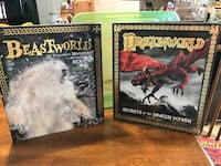 Two New Beast&Dragon world scholastic Books Gainesville, 20155