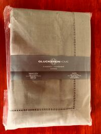 Gluckstein Home Oblong Monroe Hemstitched Oblong Tablecloth - Brand New Toronto, M6C 2L7