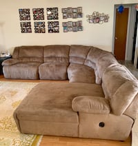 Oversized Sectional With Chaise Lounger  Cooper City, 33328