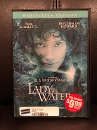 Lady In The Water DVD Widescreen Edition A Film By M. Night Shyamalan Glendale