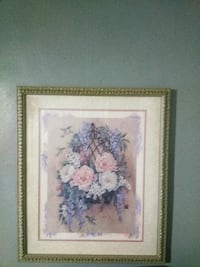white and pink petaled flowers painting Philadelphia, 19144