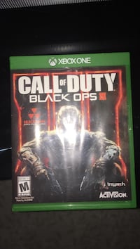 Call of duty black ops 3 xbox one game case