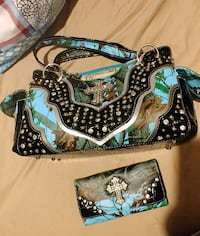 Nice western purse & matching wallet College Station
