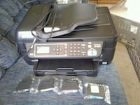 Barely used Epson workforce printer with ink . Nampa, 83686