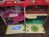 Wood dollhouse barbie size or any size pretty much $40 firm