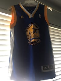 Blue and yellow gws stephen curry jersey San Jose, 95123