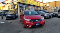 2015 HONDA FIT EX HATCHBACK LOADED RED ON BLACK WITH ONLY 44 KM Toronto