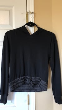 Garage Black Lace-Up Sweater Size S Edmonton, T6X