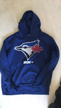 blue and yellow Nike pullover hoodie Winnipeg, R3M 0Z6