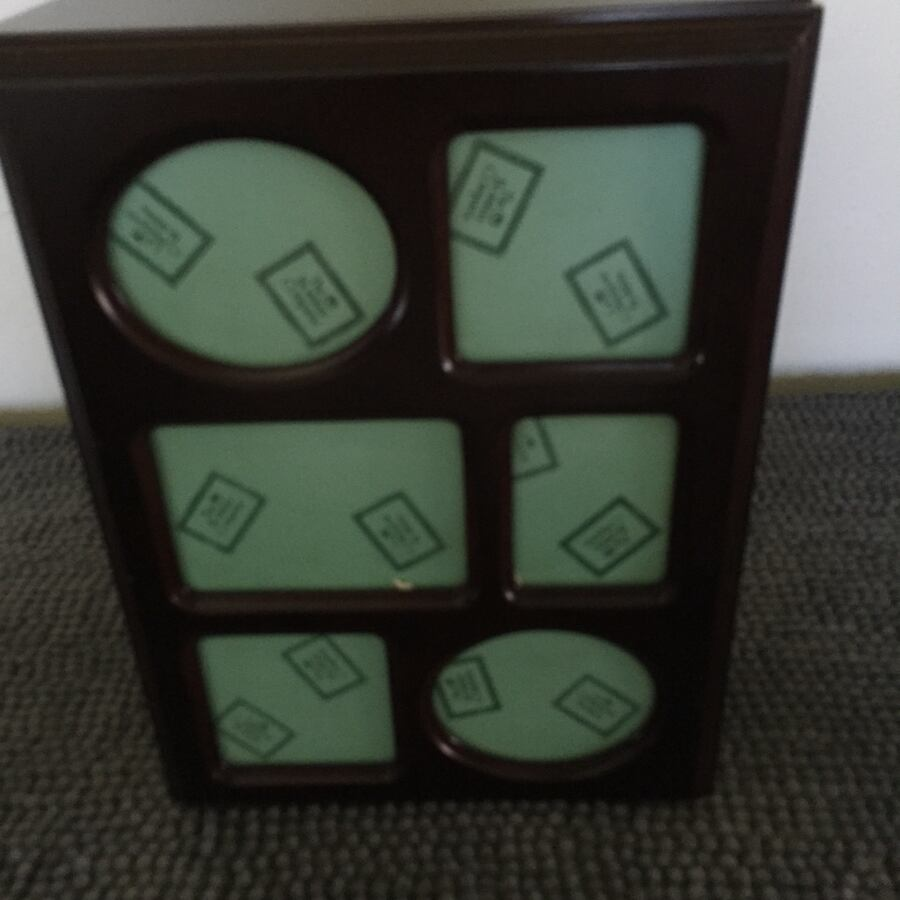 Jewelry box/picture frame