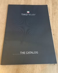 The 2001 TAG Heuer Catalogue collectible watches San Pablo, 94806