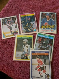 Old Hockey cards Edmonton, T6E 3H1