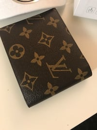 louis vuitton monogram skinn lommebok 6249 km