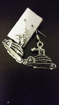Ship earrings $1.50 pair Oklahoma City, 73107