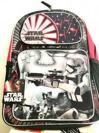 Star Wars Episode 7 The Force Awakens Backpack - Features Stormtroopers Disney Covina, 91724