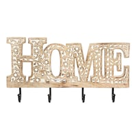 Never used HOME decor sign - handmade with key hooks - perfect gift! Toronto, M5V 3L8