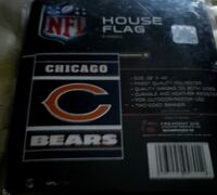 Chicago Bears Nfl house flag with pole brande new