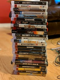 assorted Sony PS3 games Bowie, 20720