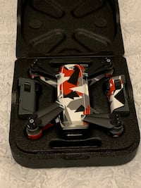 black and red quadcopter with controller Seaford, 19973