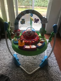 Exersaucer jump & learn new and clean