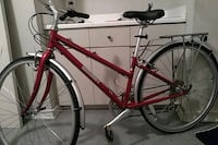 Red an silver Jamis Commuter road bike Los Angeles, 90013
