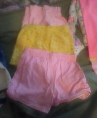 three pink and yellow shorts Russellville, 72801