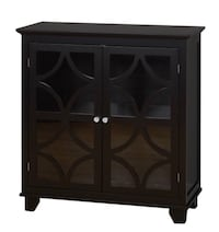 Brand New Sydney 2 Door Storage Cabinet Black  Fort Wayne, 46815