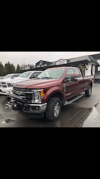 Ford - F350SD LARIAT - 2017 ONLY 15,703KMS Langley, V3A