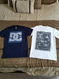 DC and Volcom shirts, Mens Size Small