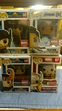 Funko pop lot of 4 thor themed pops Wyandotte, 48192