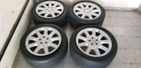 4 18 in OEM mercedes wheel off s500 like new new t
