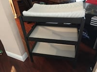 Black and white wooden changing table Palm Harbor, 34684
