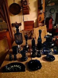 Colbolt blue collection, mostly antiques.  Blossvale, 13308