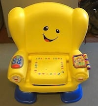 yellow Fisher-Price laugh and learn smart stages chair Vaughan, L4H 0V5
