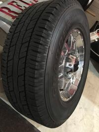 Chevy Truck Wheels and  Tires, 8 Lug for HD Pickup. Less than a year. 4 Aldie, 20105