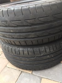 225 45 18 run flat 2 tires bridgestone  Manassas, 20110