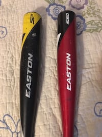 Red and black Easton bat pack Richmond, 77407