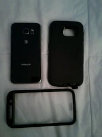 black iPhone 4 with black case Alexandria