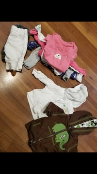 baby's assorted clothes Collingwood, L9Y 2M1