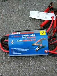 New jumper cables Anderson, 46016
