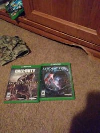 Call of duty AW lll and resident evil revelations  Stafford, 22554