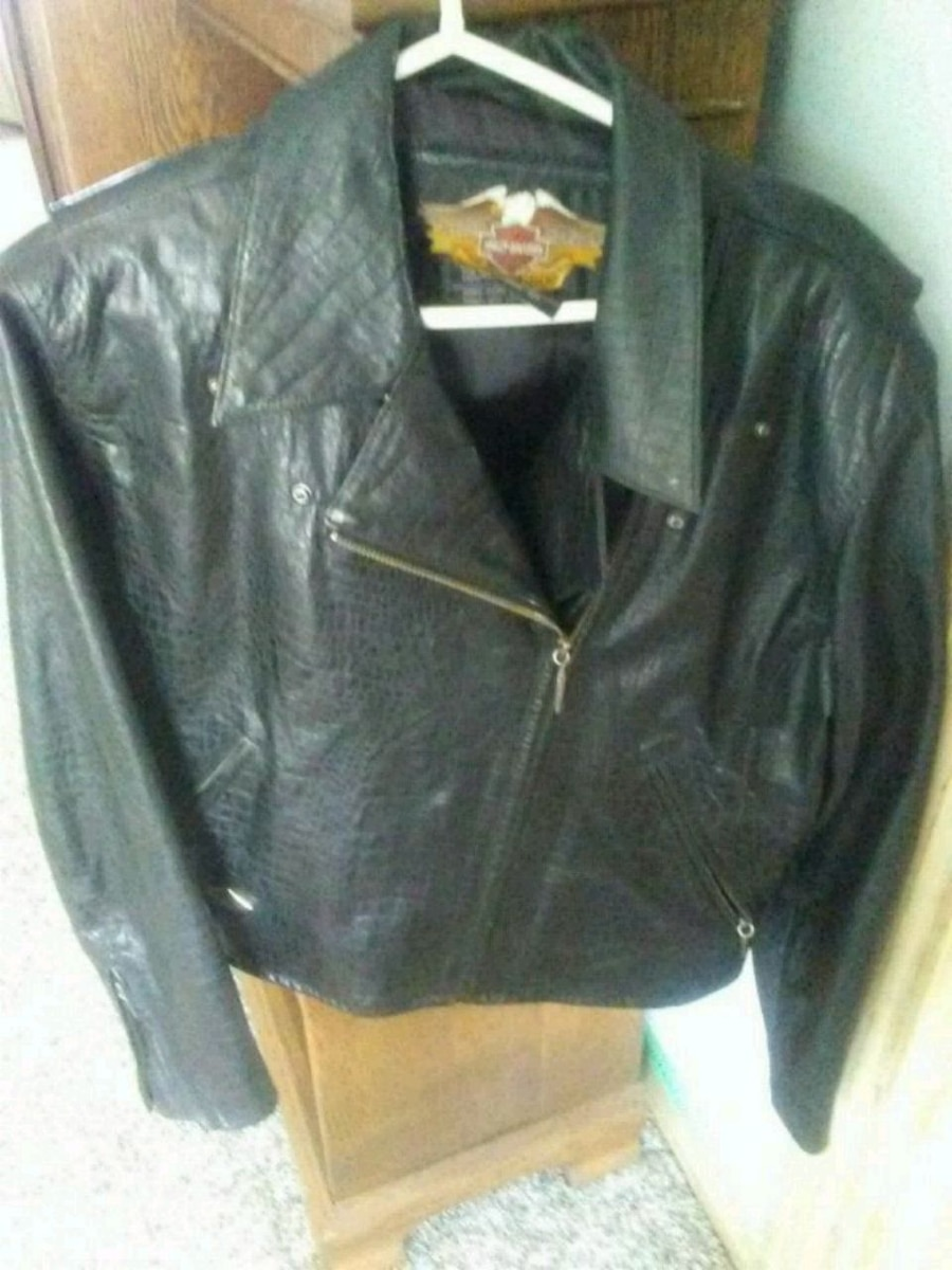 Photo Womens harley davidson leather jacket